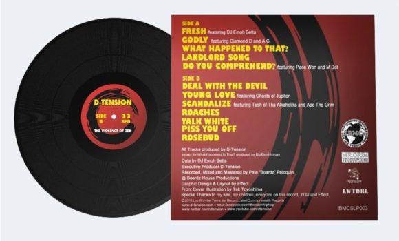6KRL-EPK-029-IBMCS_D-Tension-The Violence Of Zen (LP)-Price sheet_JP